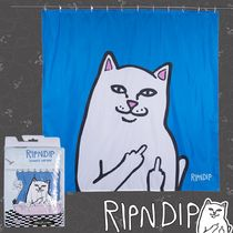 "RIPNDIP(リップンディップ) ""LORD NERMAL SHOWER CURTAIN"""