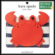 ☆shore thing crab applique card holder☆ マルチ系
