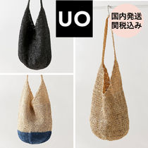 Urban Outfitters(アーバンアウトフィッターズ) かごバッグ 【国内発送*関税込】Urban Outfitters★トート ストローバッグ