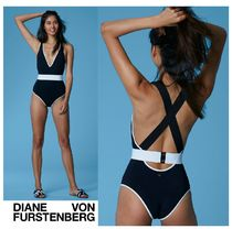 DVF★Belted Cheeky One-PieceスタイルUP!モノトーンワンピース