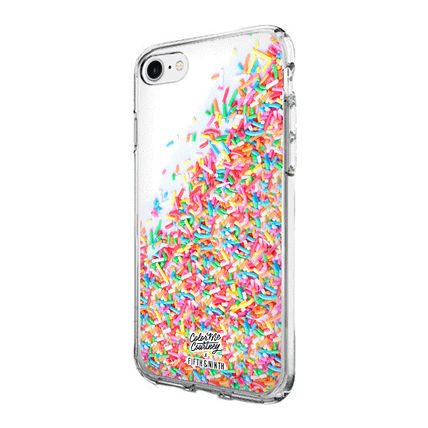 iPhone・スマホケース 即納FIFTH & NINTH) 7/8 携帯ケースSay Yes To Sprinkles(White)