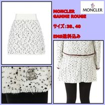 MONCLER GAMME ROUGE Aラインミニスカート 単品 / サイズ38,40