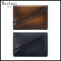 追跡ありで安心☆Berluti Imbuia Leather Card Holder