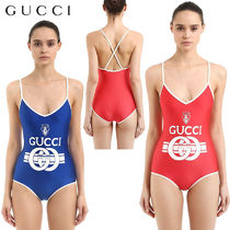 【正規品保証】GUCCI★18春夏★PRINTED SHINY LYCRA SWIMSUIT
