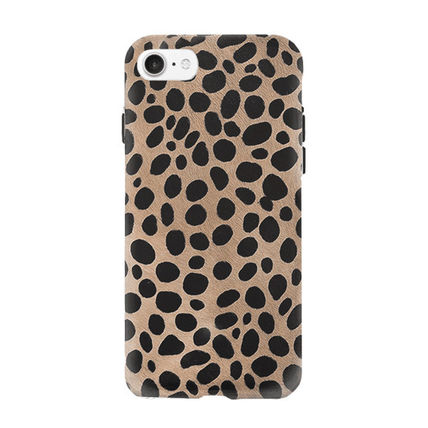 iPhone・スマホケース 即納FIFTH & NINTH) IPhone6/7/8携帯ケースSpotted(LEOPARD)(2)
