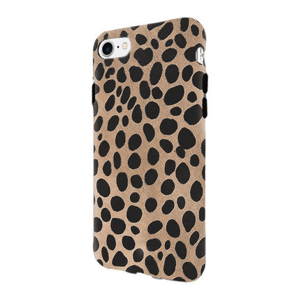 iPhone・スマホケース 即納FIFTH & NINTH) IPhone6/7/8携帯ケースSpotted(LEOPARD)(3)