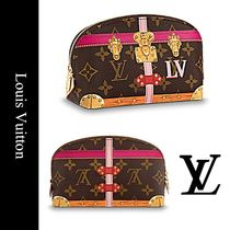Louis Vuitton(ルイヴィトン) メイクポーチ 【関税補償】ルイヴィトン ポシェット・コスメティック ポーチ
