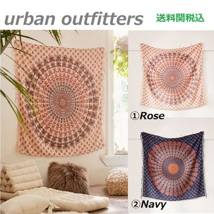 Urban Outfitters カーテン 送関込☆Urban Outfitters☆UO限定!メダリオンタペストリー 2色