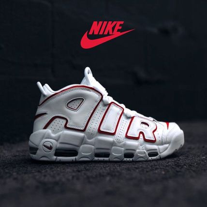 "AIR MORE UPTEMPO CITY ""WHITE RED"" - モアアップテンポ 白 赤"