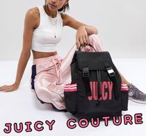 JUICY COUTURE*JuicyByJuicy Coutureナイロンロゴバックパック
