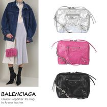 VIP価格!BALENCIAGA Classic Reporter XS bag in Arena leather
