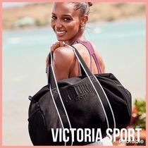 新作 NEW Victoria's Secret Sport Duffel Bag ジムバッグ 黒