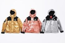 Week7新作SUPREME18SS★TNF NORTH FACE Metallic Mountain Parka