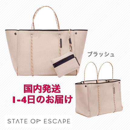 State of Escape トートバッグ ステイトオブエスケープ トートバッグ ブラッシュ