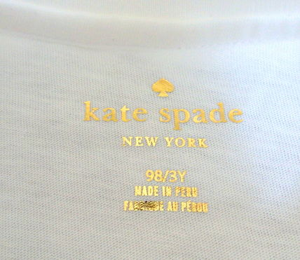 kate spade new york キッズ用トップス 【1-2日到着】kate spade●toddler's true colors peacock tee●(4)