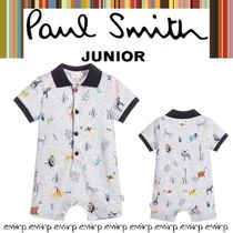 ☆18SS☆PAUL SMITH★BABYS★Richmondショートロンパース