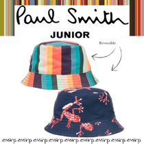 ☆18SS☆PAUL SMITH★KIDS★Renshiリバーシブルハット