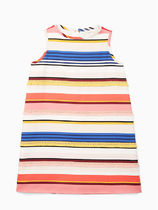 【1-2日到着】kate spade●toddler's berber stripe shift dress