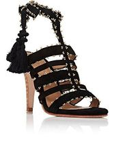 Sabina Suede Ankle-Tie Sandals スエードサンダル