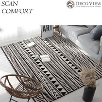 DECO VIEW★Urban Ethnic Soft Rug -ラグ(150 * 90)