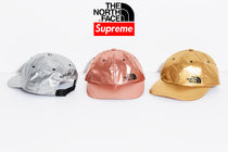 7 week SS18 ☆Supreme X The North Face  Metallic 6-Panel Hat
