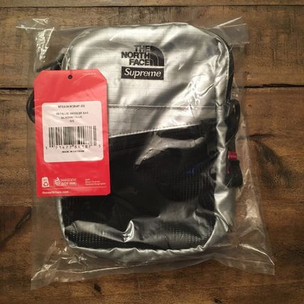 Supreme ショルダーバッグ 7 week SS18☆Supreme X The North Face Metallic Shoulder Bag