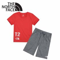 THE NORTH FACE〜K'S WEEKLY V-NECK Tシャツパンツセット 2色