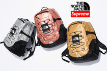 7 week SS18☆Supreme X The North Face Metallic Backpack