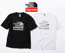 7 week SS18☆Supreme X The North Face Metallic  Logo T-Shirt