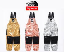 7 week SS18☆Supreme X The North Face Metallic Bib Pants