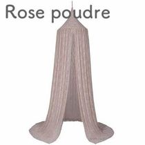 numero74★花柄レース生地キャノピー★Rose poudre