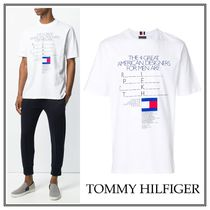 18SS☆Tommy Hilfiger(トミーヒルフィガー)プリント Tシャツ 白