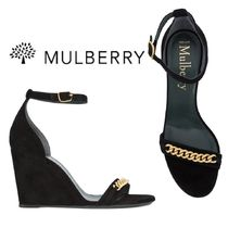 【18SS】大注目!!★Mulberry★chainlink wedge sandals