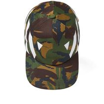◆ OFF-WHITE ◆ CAMOUFLAGE DIAG CAP カモフラ 迷彩 キャップ