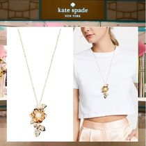 18SS kate spade☆ラビッシュ ブルームス ペンダント ネックレス