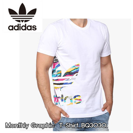 adidas Tシャツ・カットソー ADIDAS★正規品★Monthly Graphic T-Shirt_BQ3030