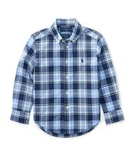 新作♪国内発送 Plaid Cotton Poplin Shirt boys 2~7