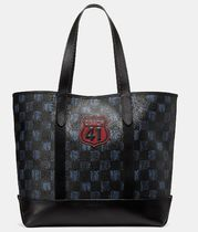 最新コーチ*WEST TOTE  WITH GRAPHIC CHECKER PRINT/70000円