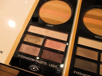 CHANEL アイメイク LES BEIGES PALETTE REGARD BELLE MINE NATURELLE ★パリ先行(2)