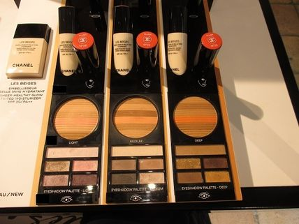 CHANEL アイメイク LES BEIGES PALETTE REGARD BELLE MINE NATURELLE ★パリ先行(3)