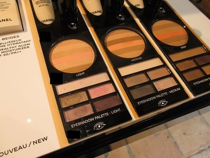 CHANEL アイメイク LES BEIGES PALETTE REGARD BELLE MINE NATURELLE ★パリ先行(4)