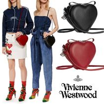 ◆VivienneWestwood◆大きめオーブチャーム付♪ハート型バッグ