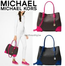 SALE!日本未入荷[Michael Kors]Mercer Gallary 2way MK柄トート