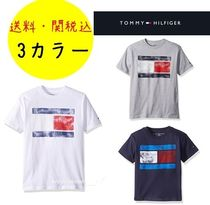 Tommy Hilfiger(トミーヒルフィガー) キッズ用トップス 【大人もOK!男女兼用】Tommy Hilfiger トミー ロゴ Tシャツ