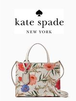 KATE SPADE thompson street fabric sam フラワー