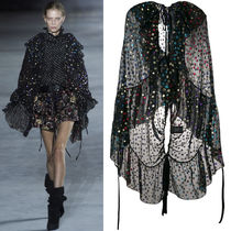 18SS WSL1253 LOOK5 RUFFLED CAPE BLOUSE