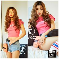 NASTY PALM(ネスティパム) Tシャツ・カットソー 新作★NASTY PALM★PINK FANCY CROP TEE (PINK)