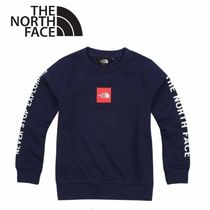 THE NORTH FACE〜K'S SQUARE LOGO お子様用スウェット 3色