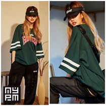 NASTY PALM(ネスティパム) Tシャツ・カットソー 新作★NASTY PALM★FANCY CLUB FOOTBALL TEE (green)