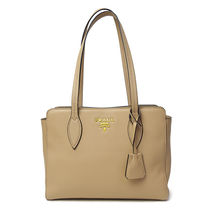 プラダ VITELLO PHENIX トートバッグ 11BG112 CAMMEO (bag-4521)